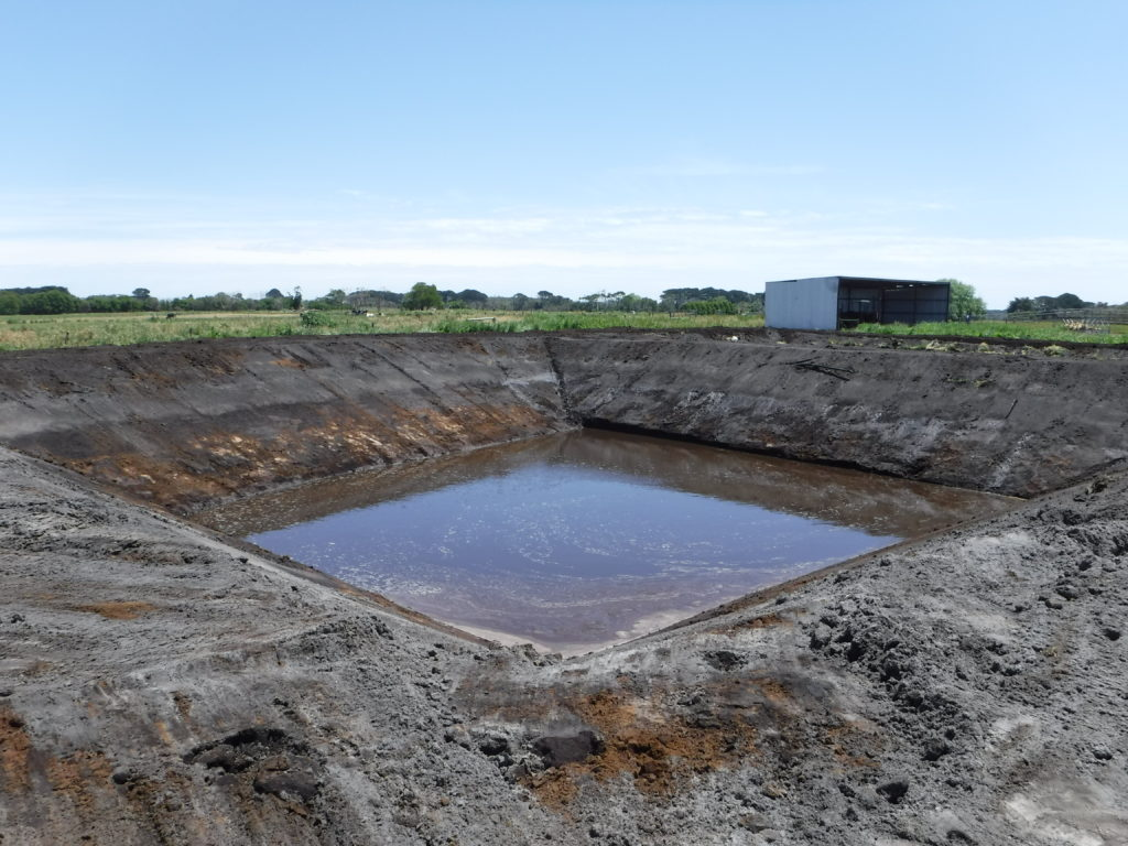 Farm 3 - Effluent Irrigation Pond - Before