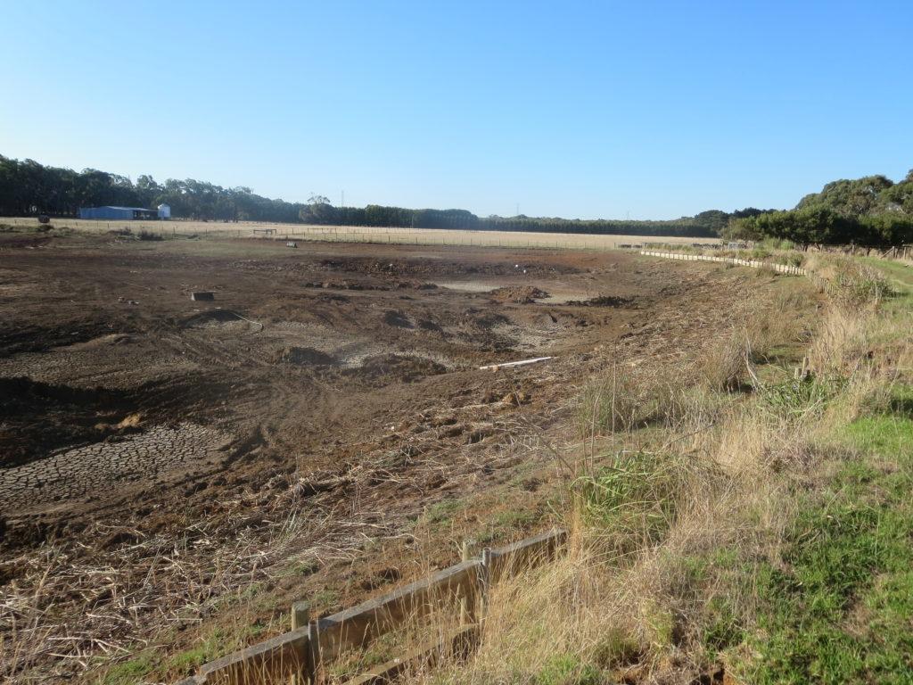 Farm 1 - Dam requiring works